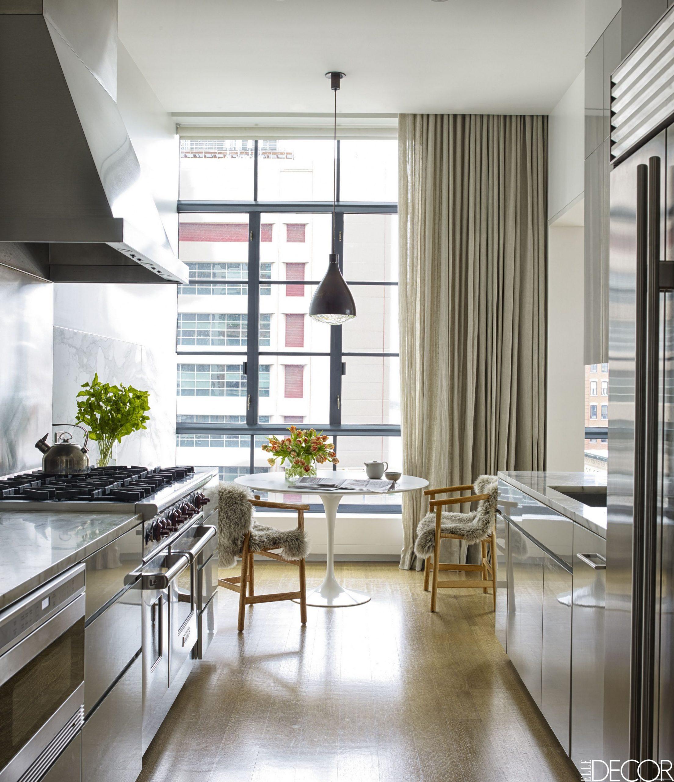 12 Creative Small Kitchen Ideas - Brilliant Small Space Hacks - Apartment Kitchen Design Ideas