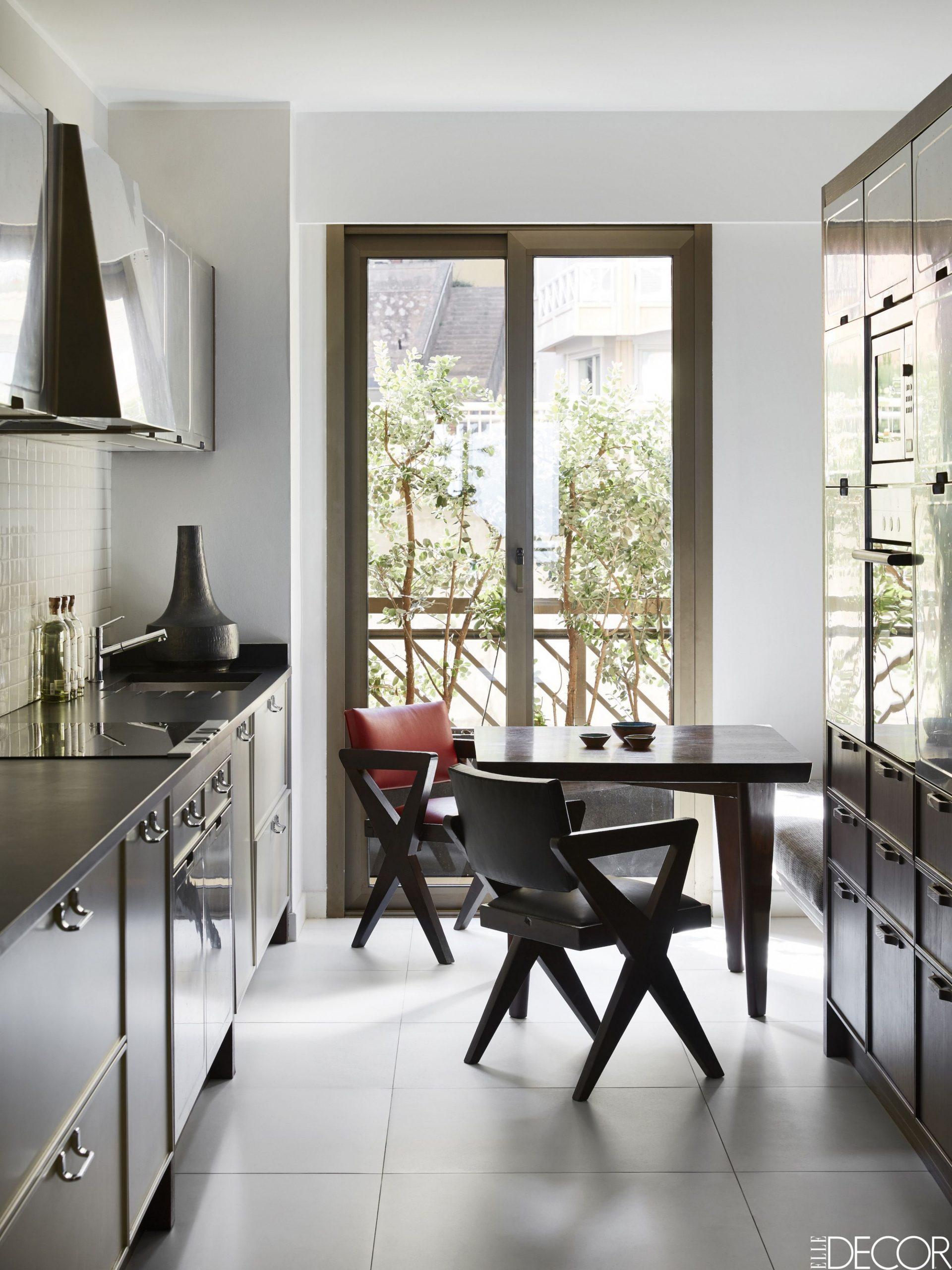12 Creative Small Kitchen Ideas - Brilliant Small Space Hacks - Small Dining Room Kitchen Ideas