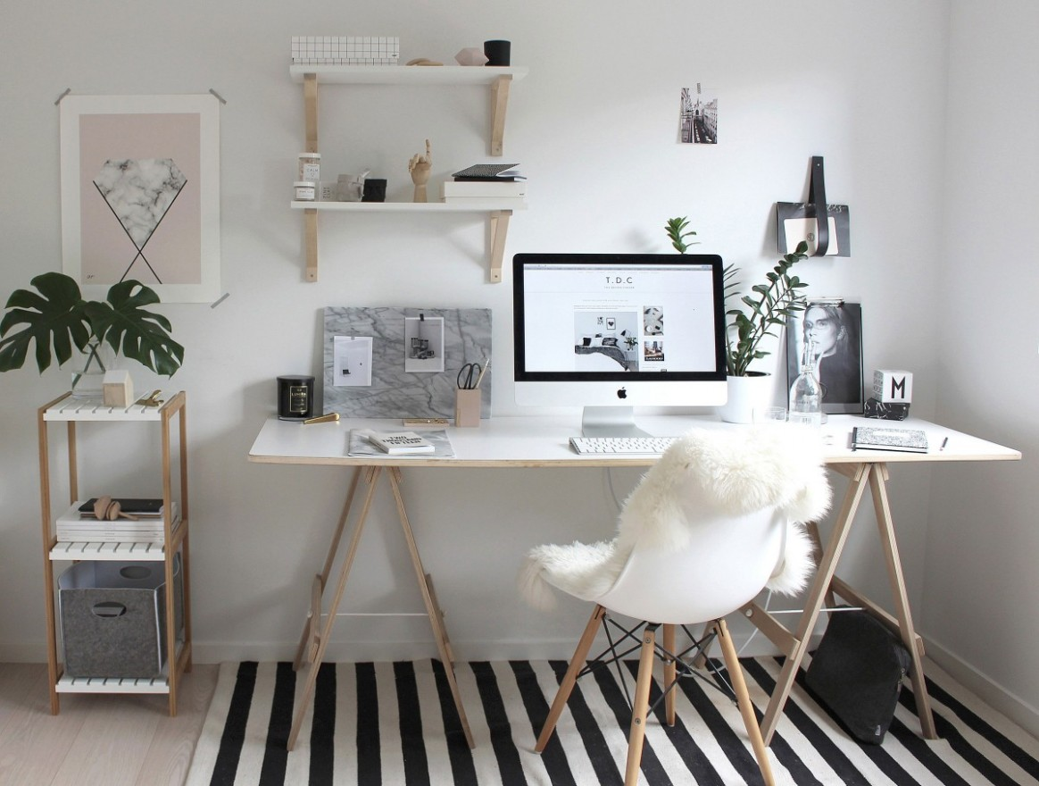 12 desk space ideas to make your home office the best room in the  - Home Office Ideas Kmart