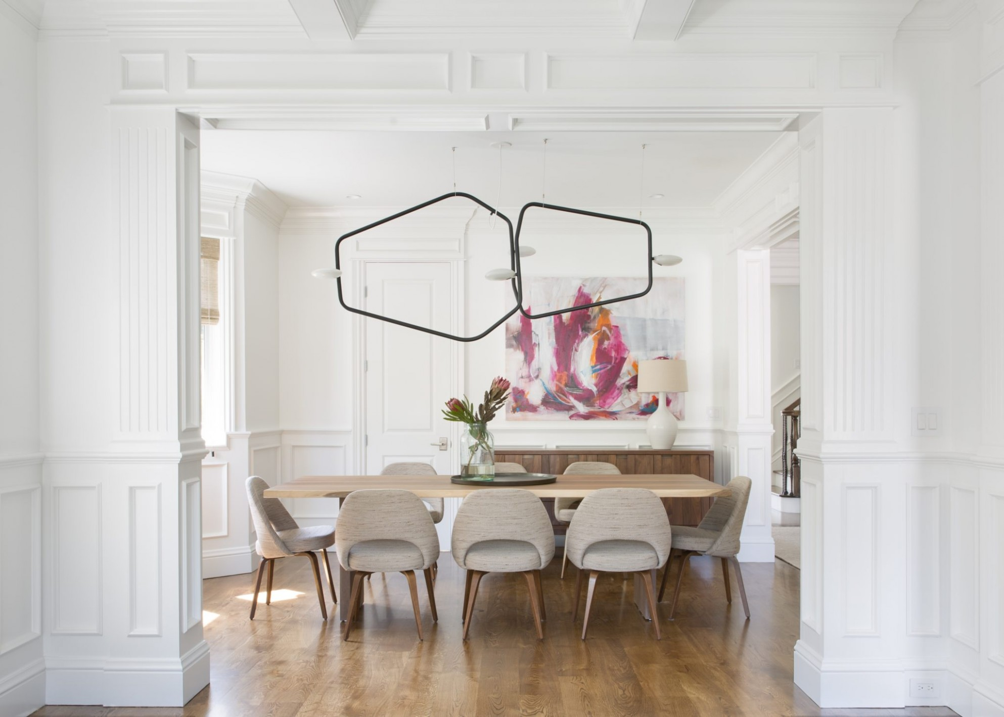 12 Dining Rooms with Wainscoting - Chairish Blog - Dining Room Ideas With Wainscoting