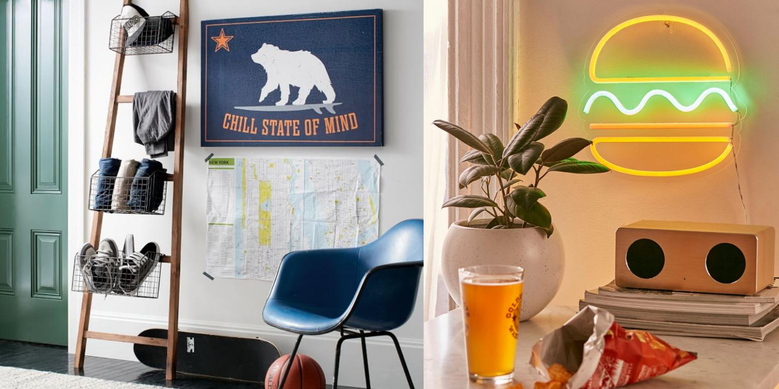 12 Dorm Room Ideas For Guys - Cool Dorm Room Decor Guys Will Love - Apartment Decor Ideas For Guys