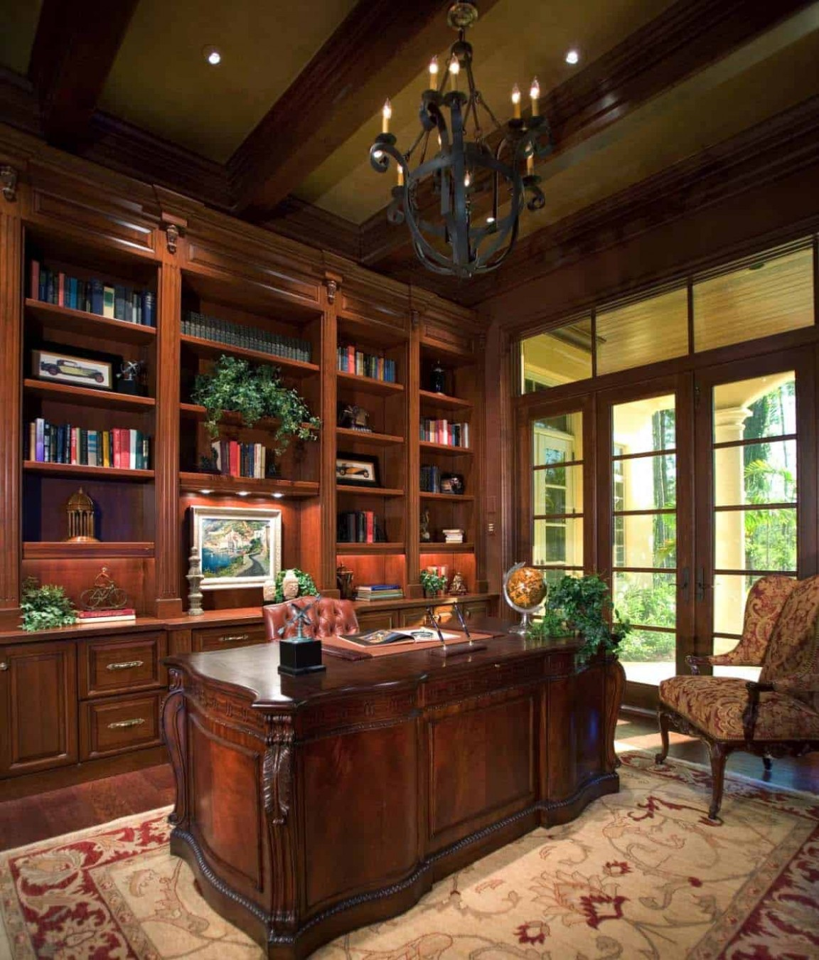12 Dreamy home offices with libraries for creative inspiration - Victorian Home Office Ideas