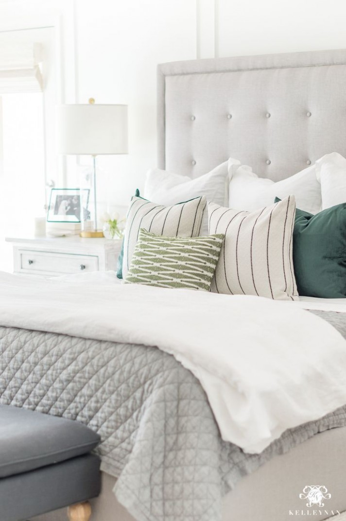12 Habits to Maximize Productivity While Working from Home  Green  - Master Bedroom Quilt Ideas
