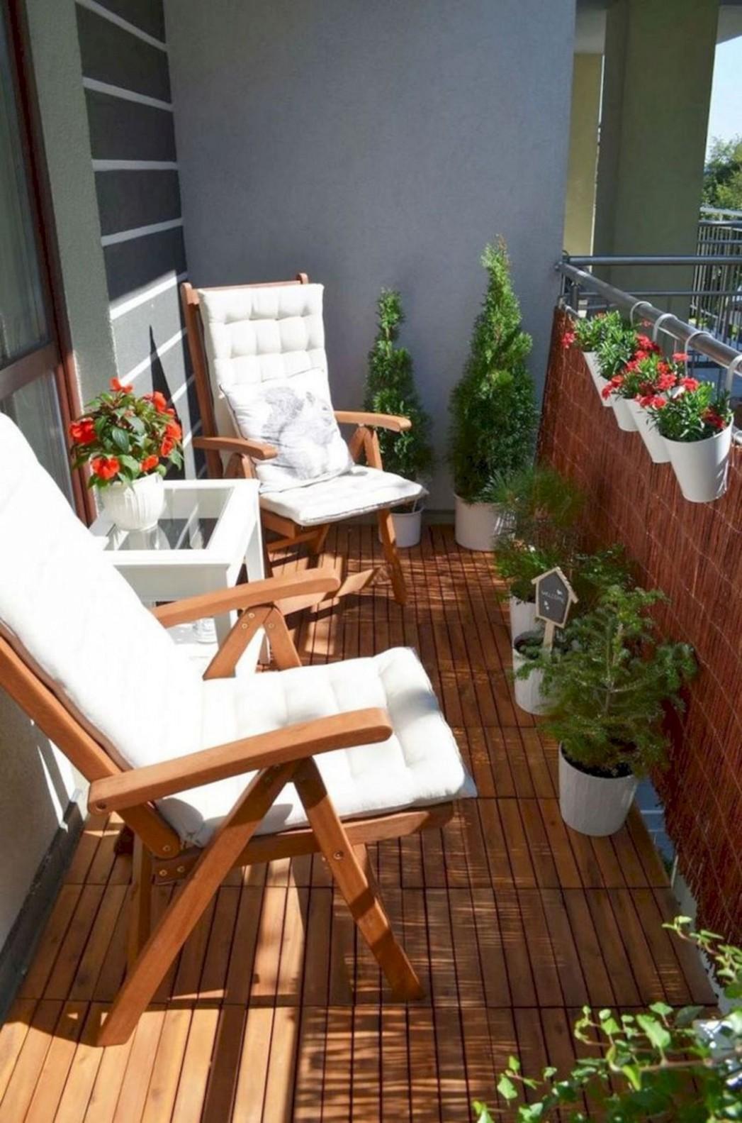 12+ Incredible Small Apartment Balcony Design Ideas On A Budget To  - Apartment Balcony Ideas On A Budget