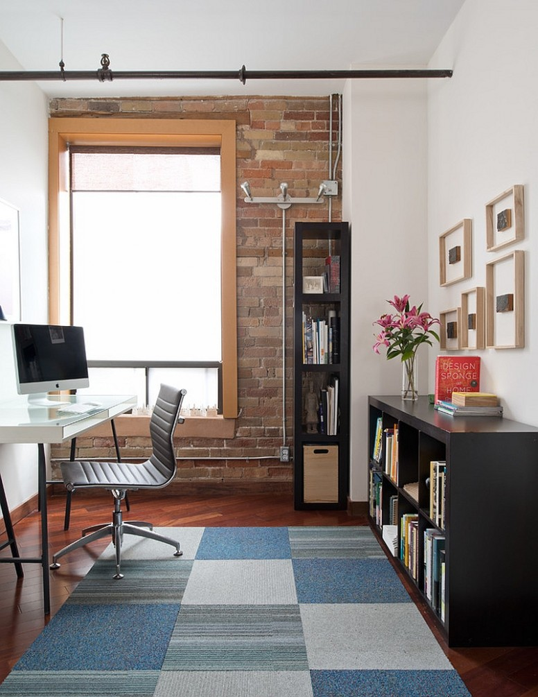 12 Ingenious Industrial Home Offices with Modern Flair - Home Office Ideas Loft