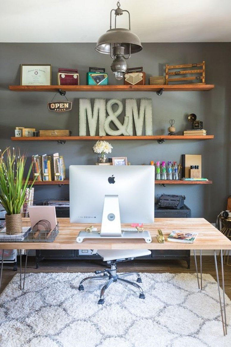 12 Inspirational Home Office Decor Ideas For 1219 - Home Office Accessories Ideas