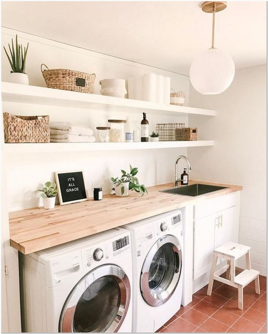 12+ Laundry Room Organization Ideas For a Better Viewing  - Laundry Room Near Bedrooms