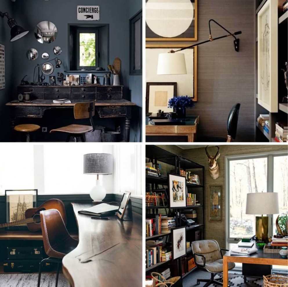 12 Midcentury Home Office Ideas  Decor Or Design - Home Office Ideas Mid-Century Modern