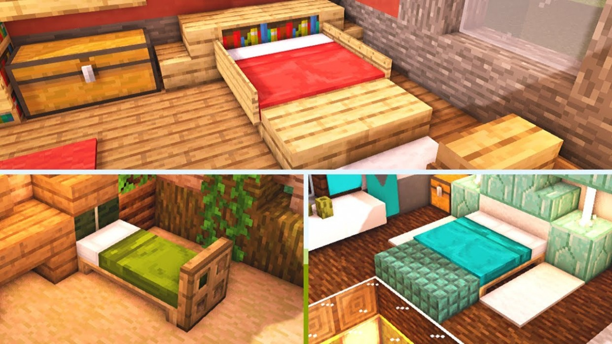 12 Minecraft Bedroom Design Ideas to Build for Your House (Tutorial) - Bedroom Ideas Minecraft