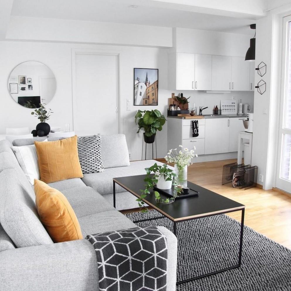 12+ Minimalist Small Apartment Decorating Ideas Budget - COODECOR - Small Apartment Decor Ideas
