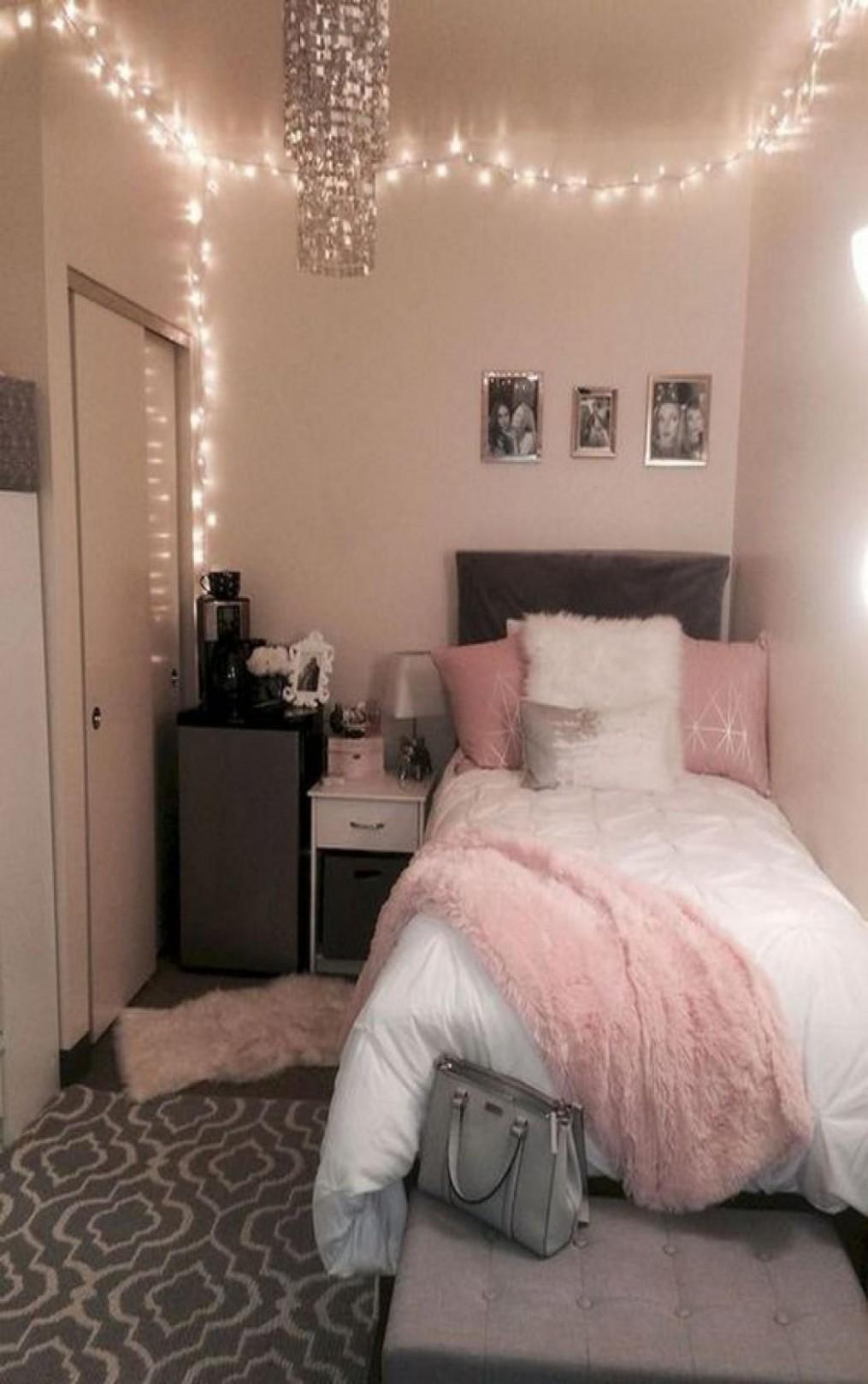 12 Most Popular Apartment Bedroom Design Ideas in 12  Dorm room  - Bedroom Ideas Apartment