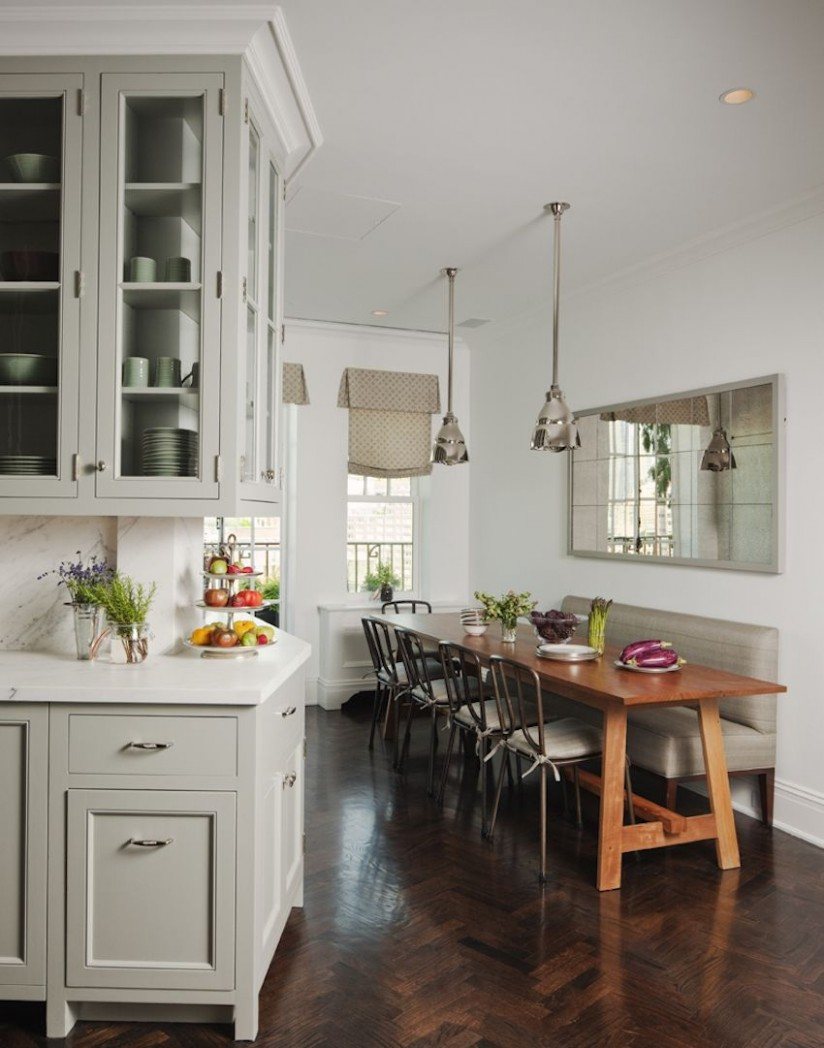 12 Narrow Dining Table Designs For a Small Dining Room  Narrow  - Small Dining Room Kitchen Ideas
