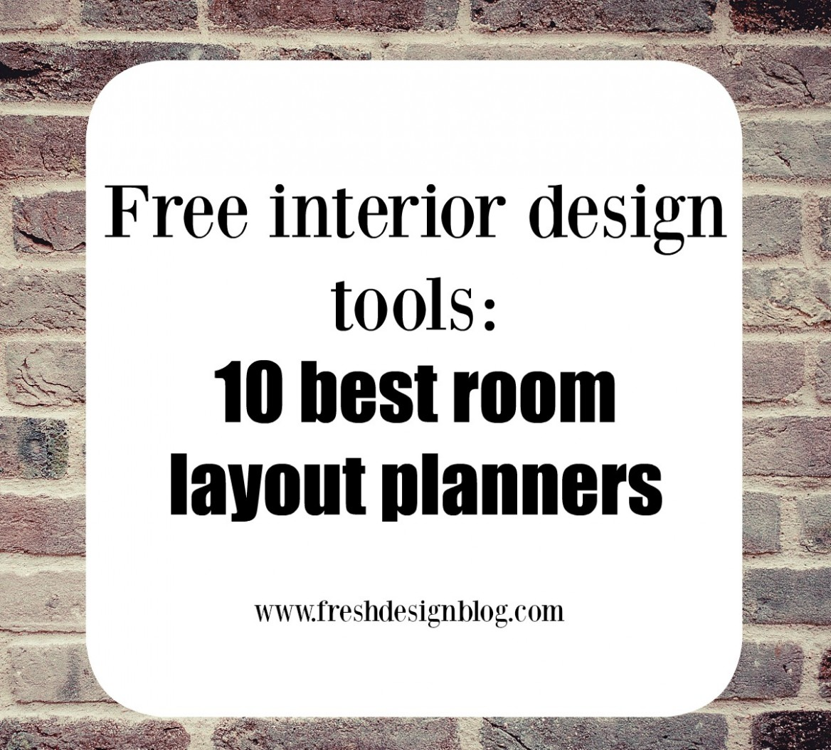 12 of the best free online room layout planner tools - Apartment Design Tool Online