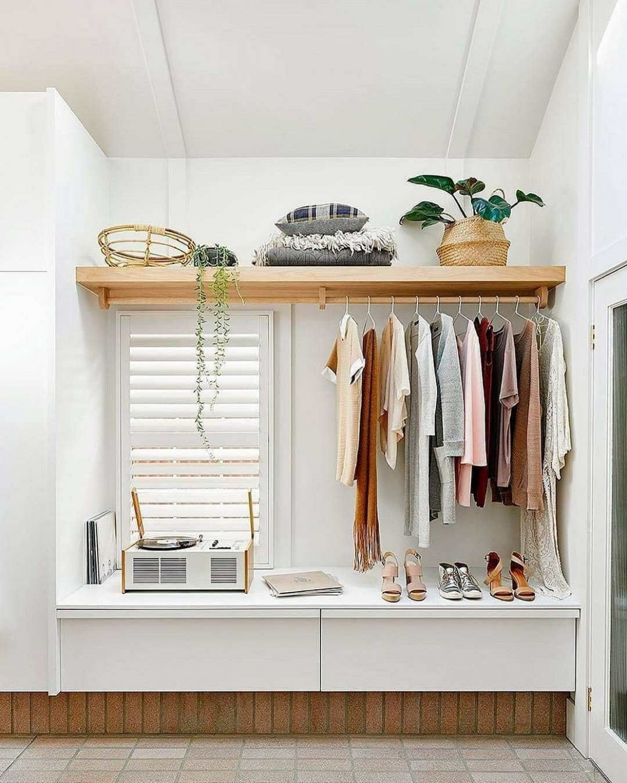 12 Open Closet Ideas for Small Bedrooms - Ten Catalog  Closet  - Closet Ideas For Small Bedrooms