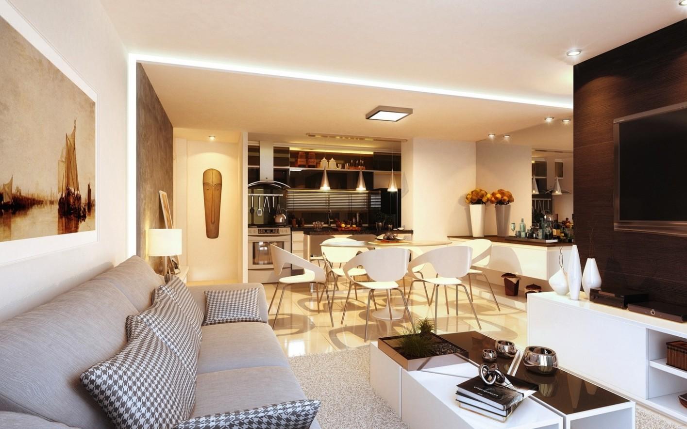 12 Open Concept Apartment Interiors For Inspiration - Apartment House Design Ideas
