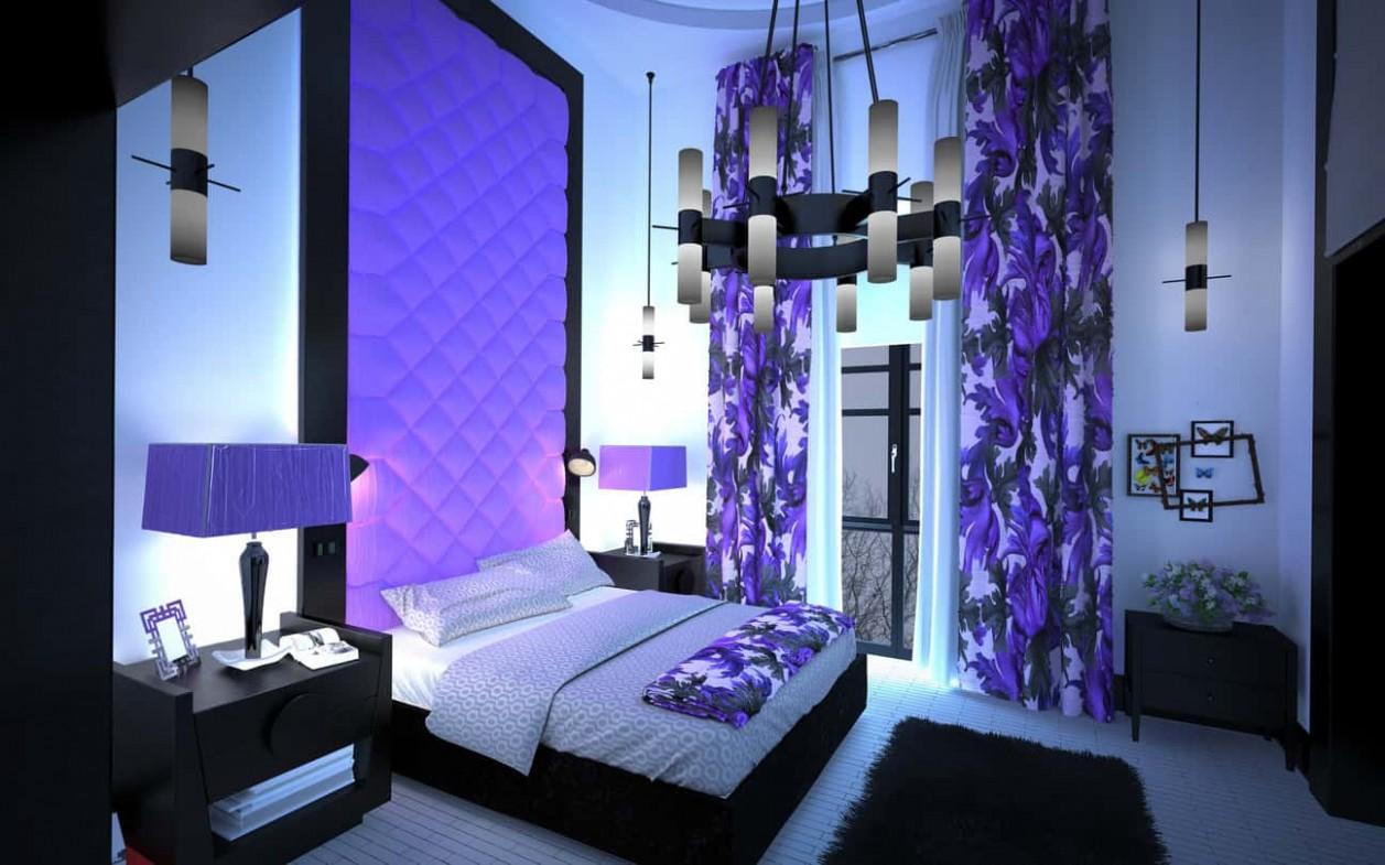 12 Purple Interior Design Ideas (Purple Room Photos) - Bedroom Ideas Purple