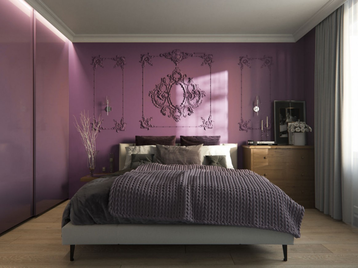 12 Purple Themed Bedrooms With Ideas, Tips & Accessories To Help  - Bedroom Ideas Purple