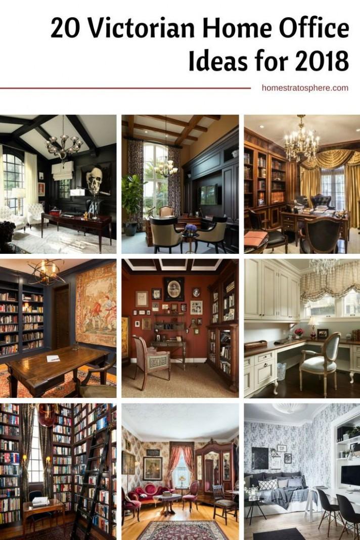 12 Really Great Home Office Ideas (Photos)  Victorian house  - Victorian Home Office Ideas