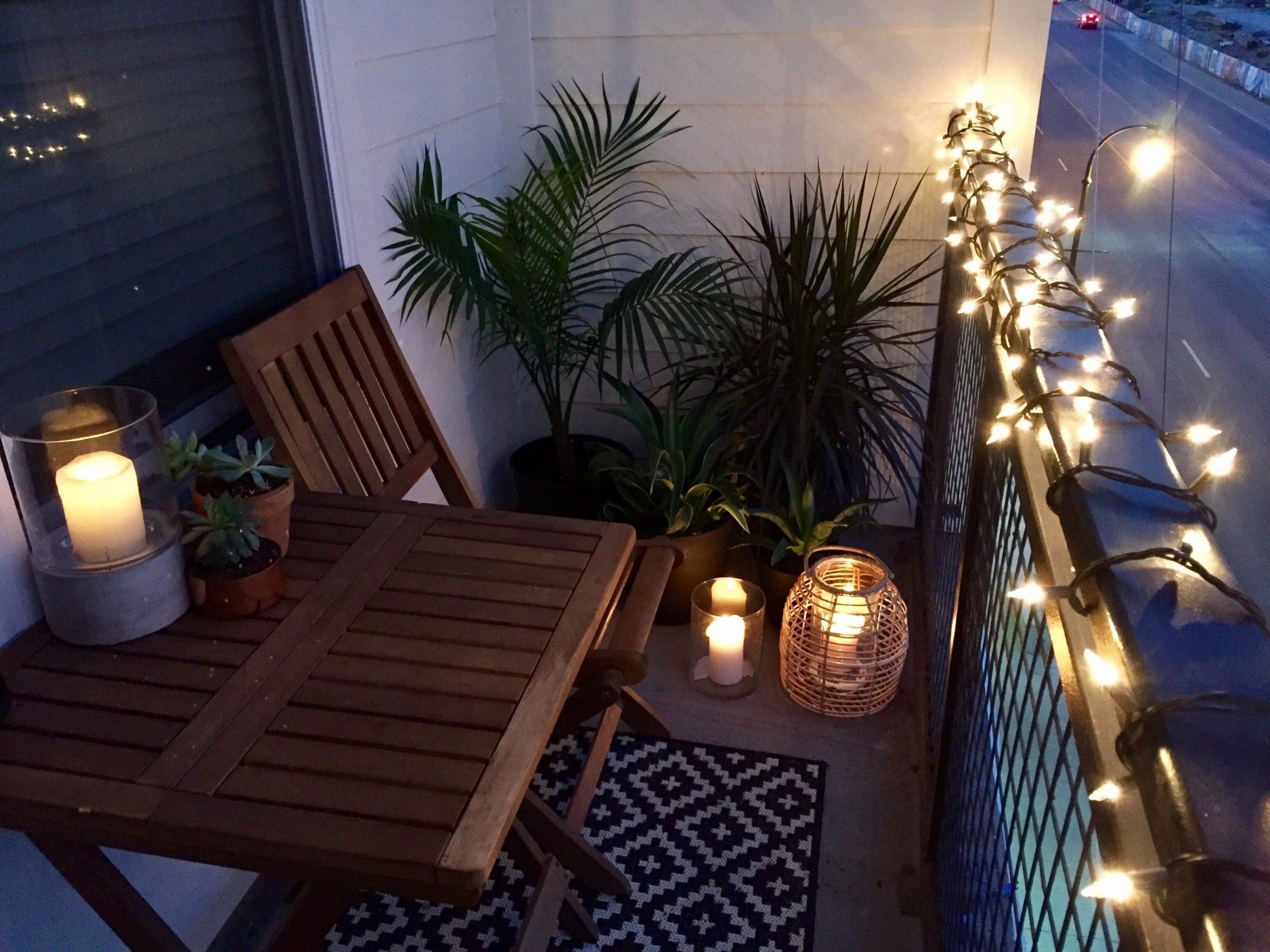 12+ Romantic Balcony Ideas for Small Apartment - The Urban  - Balcony Ideas For Apartments