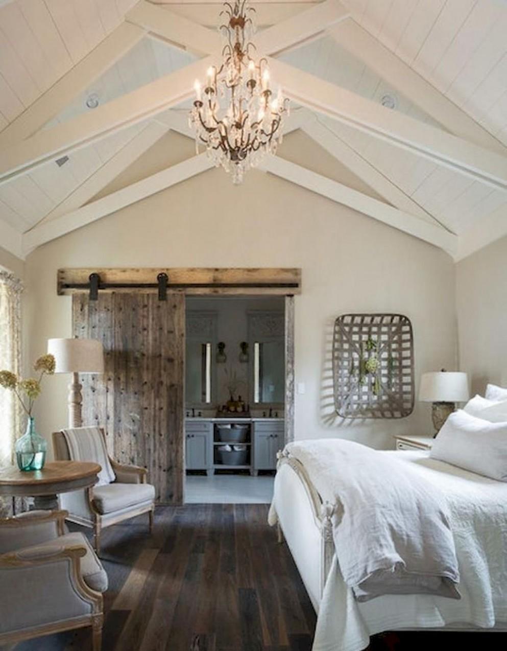 12 Rustic Master Bedroom for Farmhouse Ideas  Farmhouse style  - Bedroom Ideas Rustic