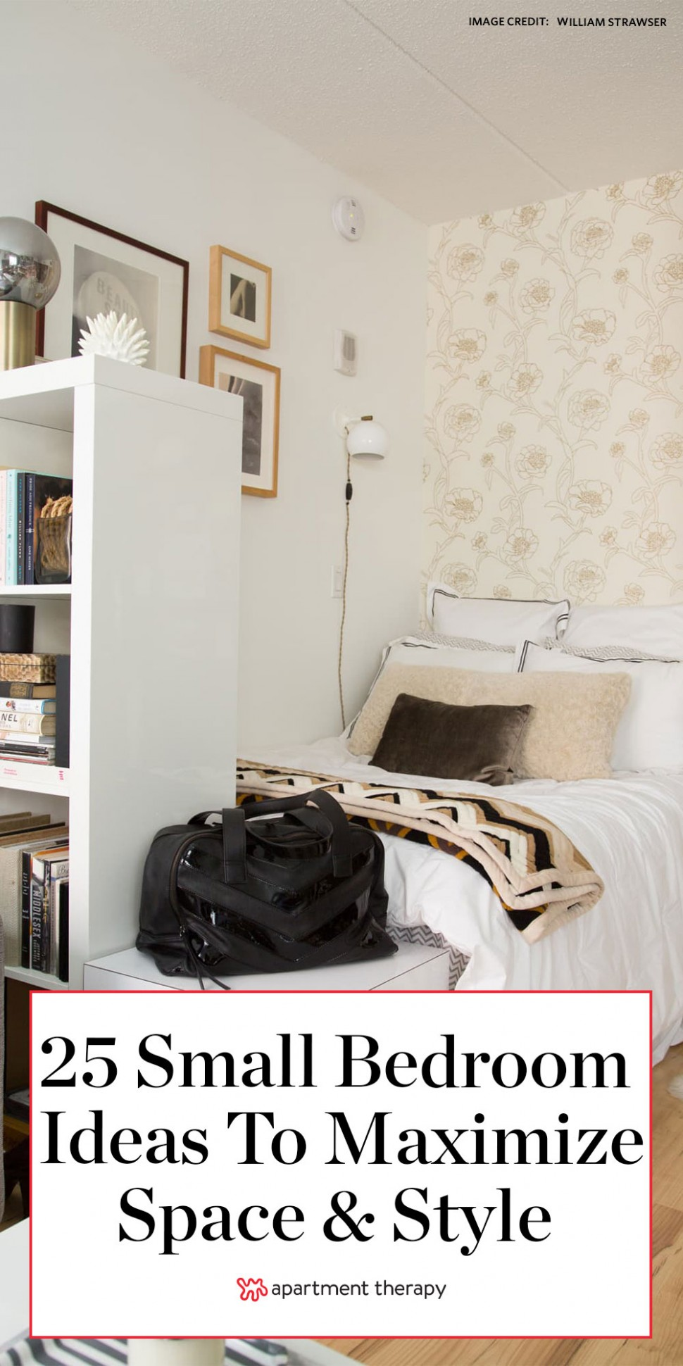 12 Small Bedroom Ideas - How to Decorate a Small Bedroom  - Bedroom Ideas Apartment