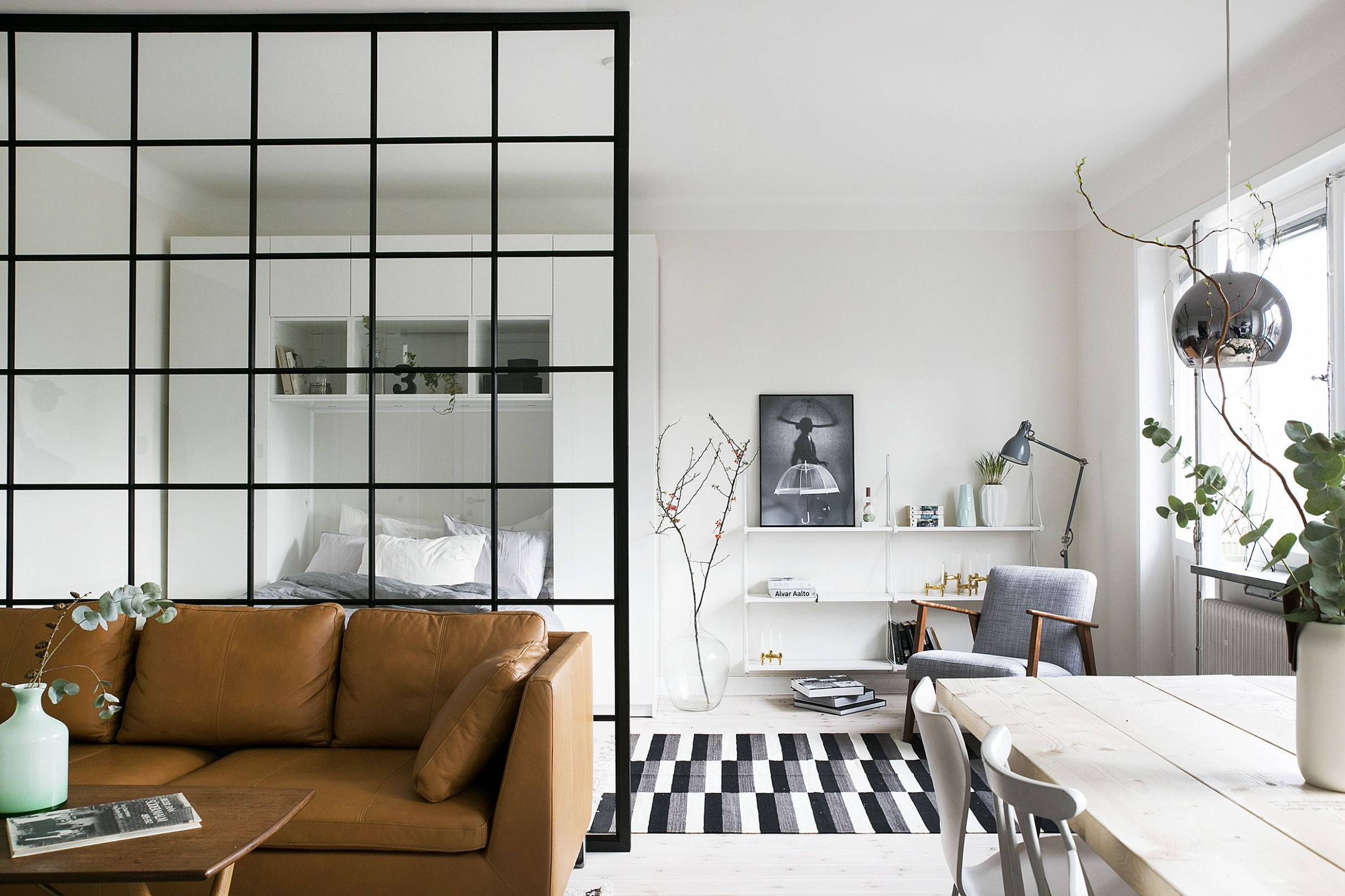 12 Small House Interior Design Ideas - How to Decorate a Small Space - Apartment House Design Ideas