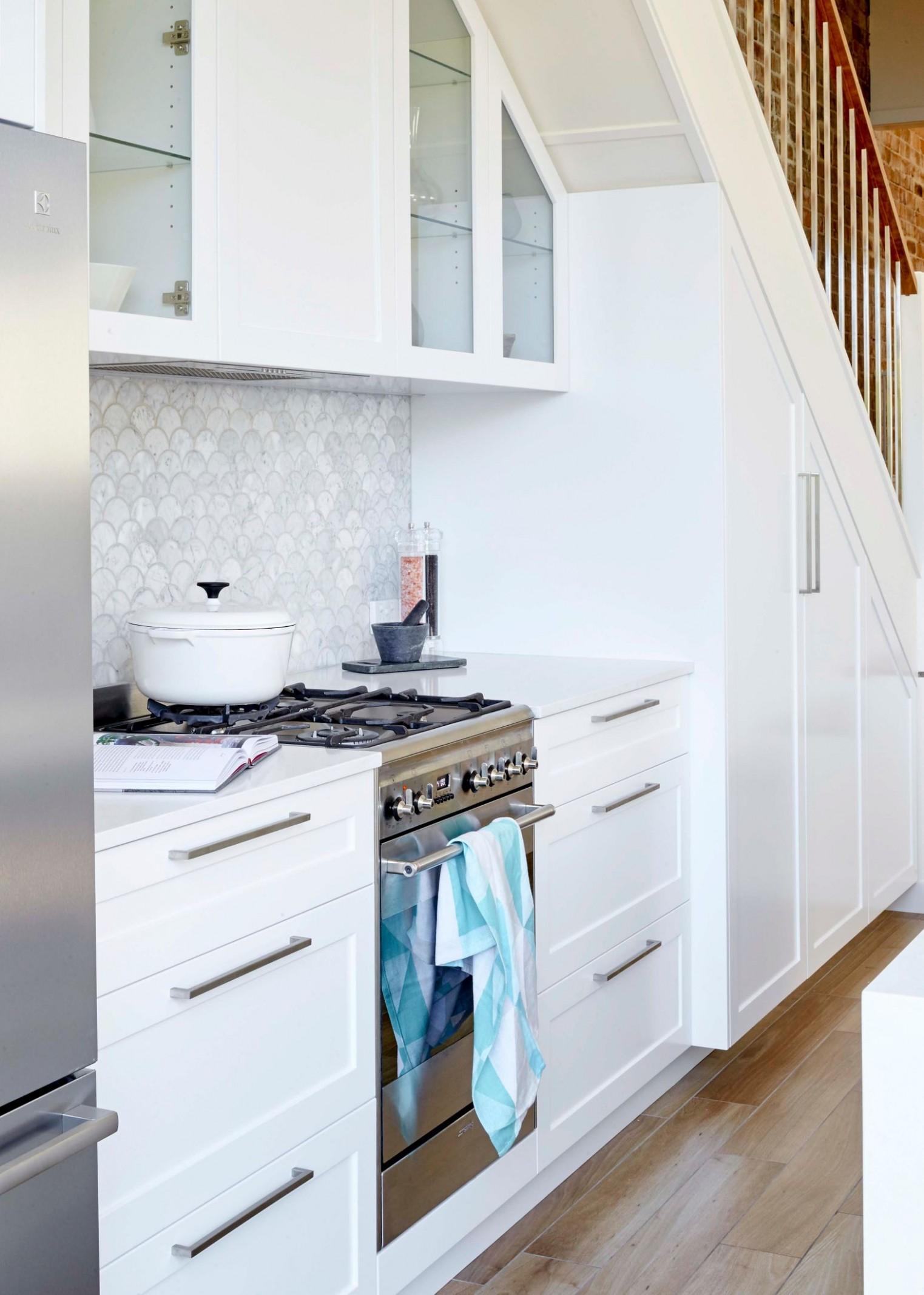 12 Small Kitchen Design Ideas  Home Beautiful Magazine Australia - Apartment Kitchen Design Sydney
