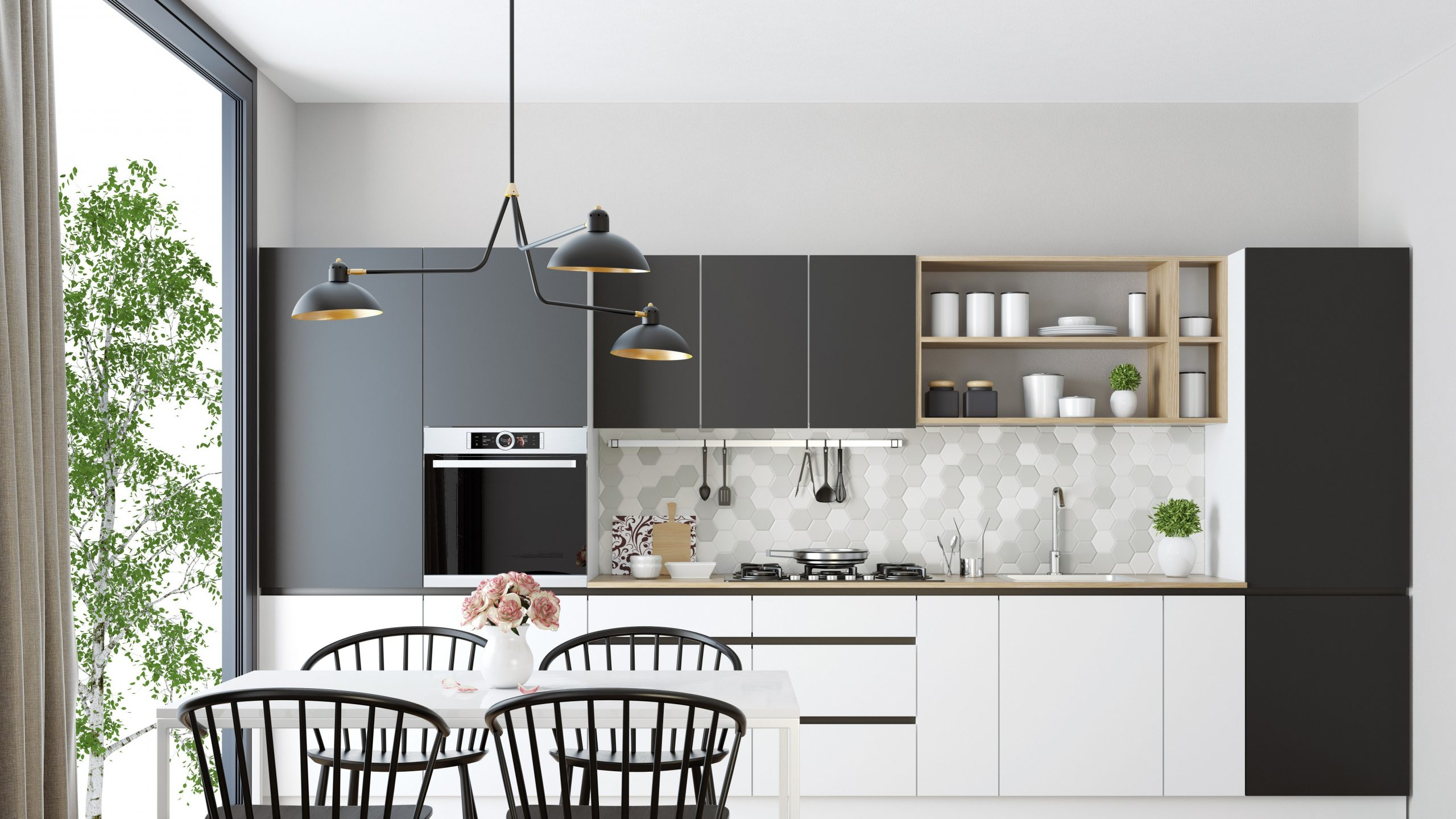 12 Small Kitchen Design Ideas That Make the Most of a Tiny Space  - Apartment Kitchen Design Ideas