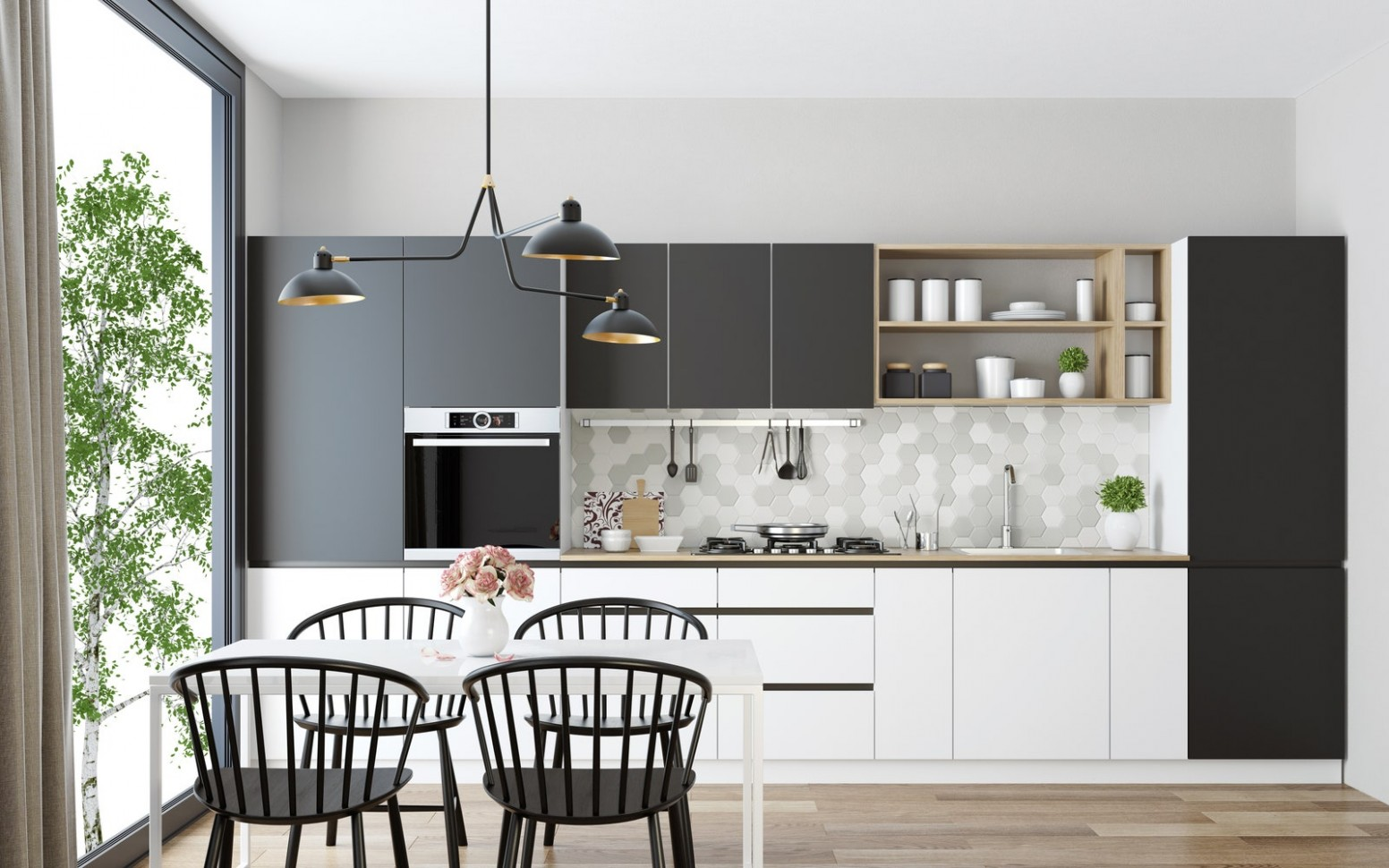 12 Small Kitchen Design Ideas That Make the Most of a Tiny Space  - Small Dining Room Kitchen Ideas