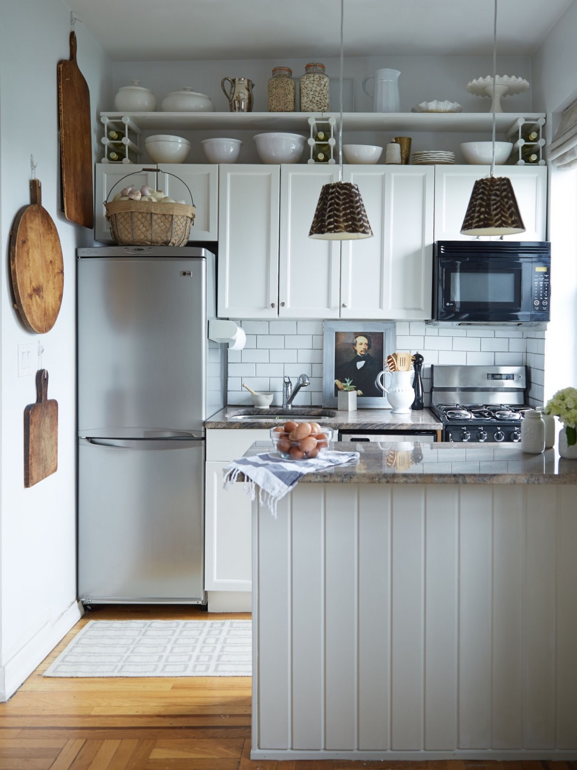 12 Splendid Small Kitchens And Ideas You Can Use From Them - Apartment Kitchen Design Ideas