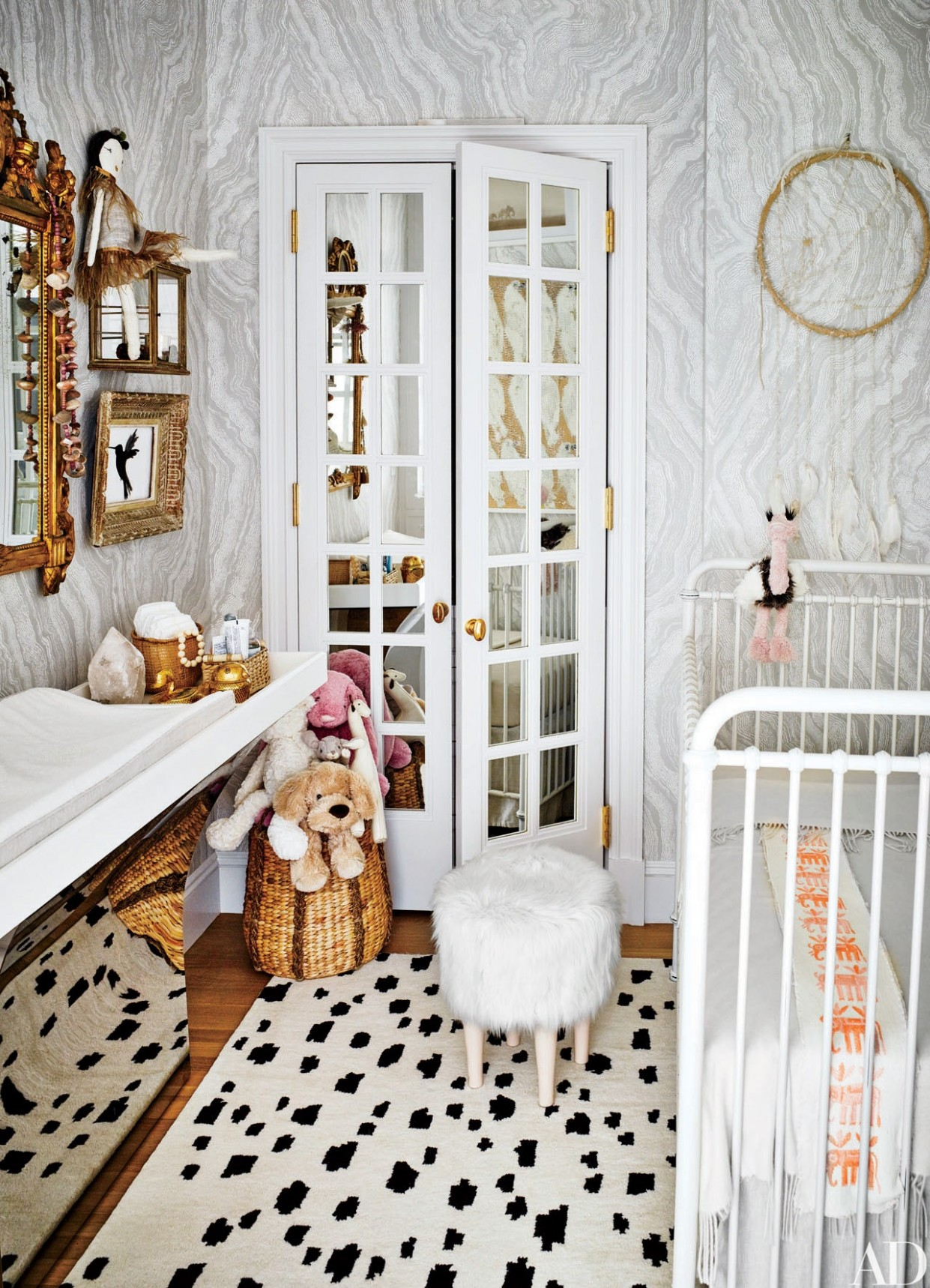 12 Stylish Kids Bedroom & Nursery Ideas  Architectural Digest - Baby Room Pacific Place