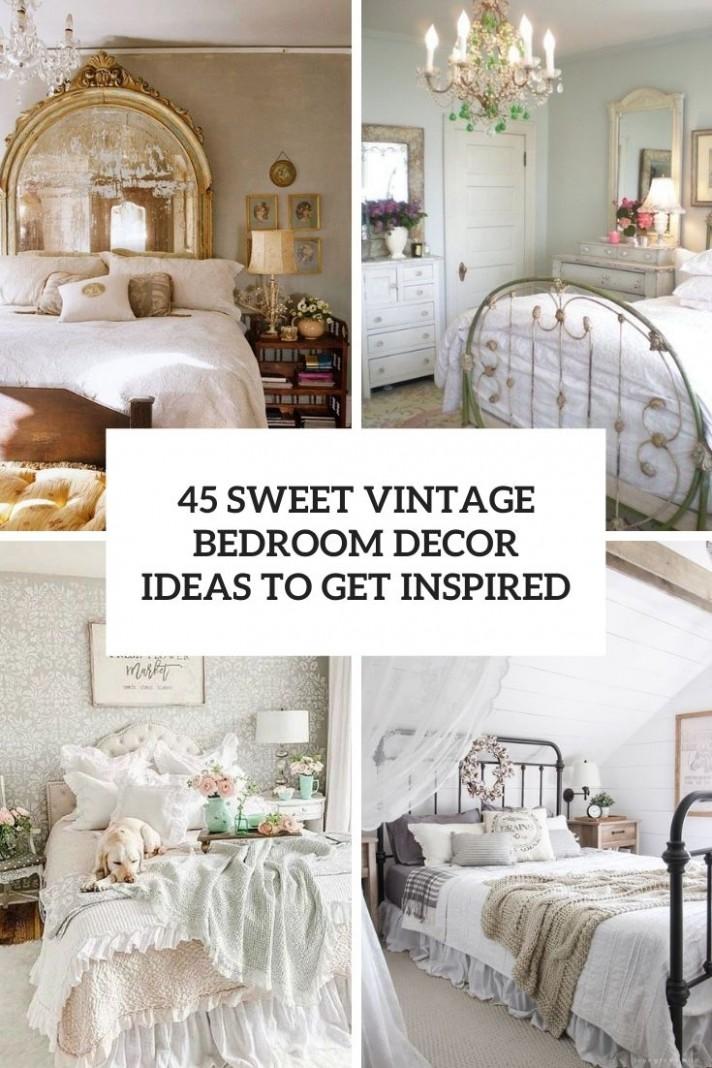 12 Sweet Vintage Bedroom Décor Ideas To Get Inspired - DigsDigs - Bedroom Ideas Vintage