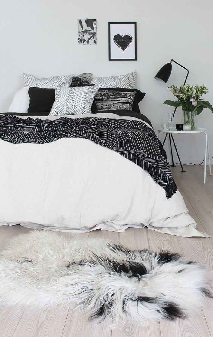 12 Timeless Black And White Bedrooms That Know How To Stand Out  - Bedroom Ideas Black And White