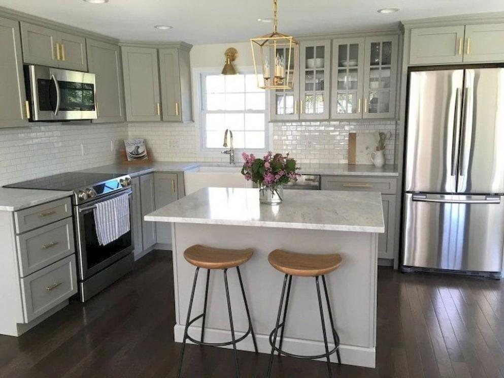 12+ Unique Small Kitchen Design Ideas For Your Apartment - TRENDUHOME - Apartment Kitchen Design Ideas