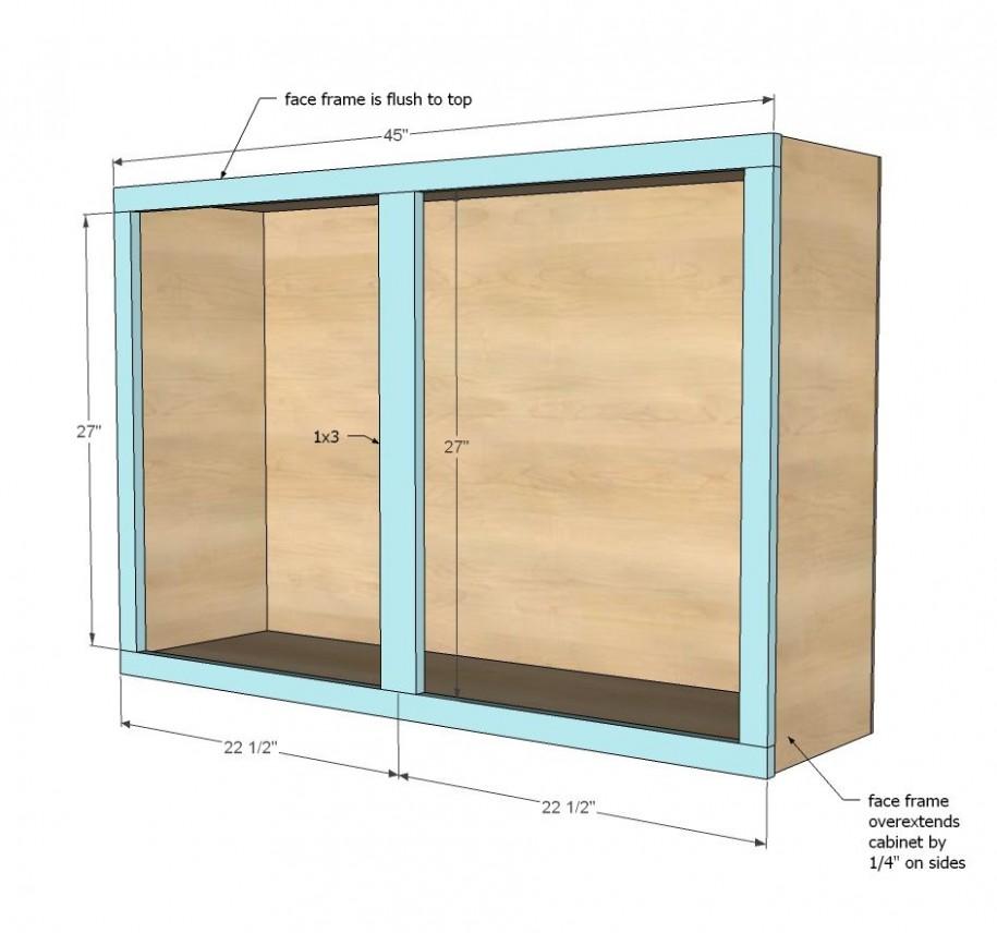 """12"""" Wall Kitchen Cabinet  Diy cupboards, Kitchen cabinet plans  - Wall Framing For Kitchen Cabinets"""