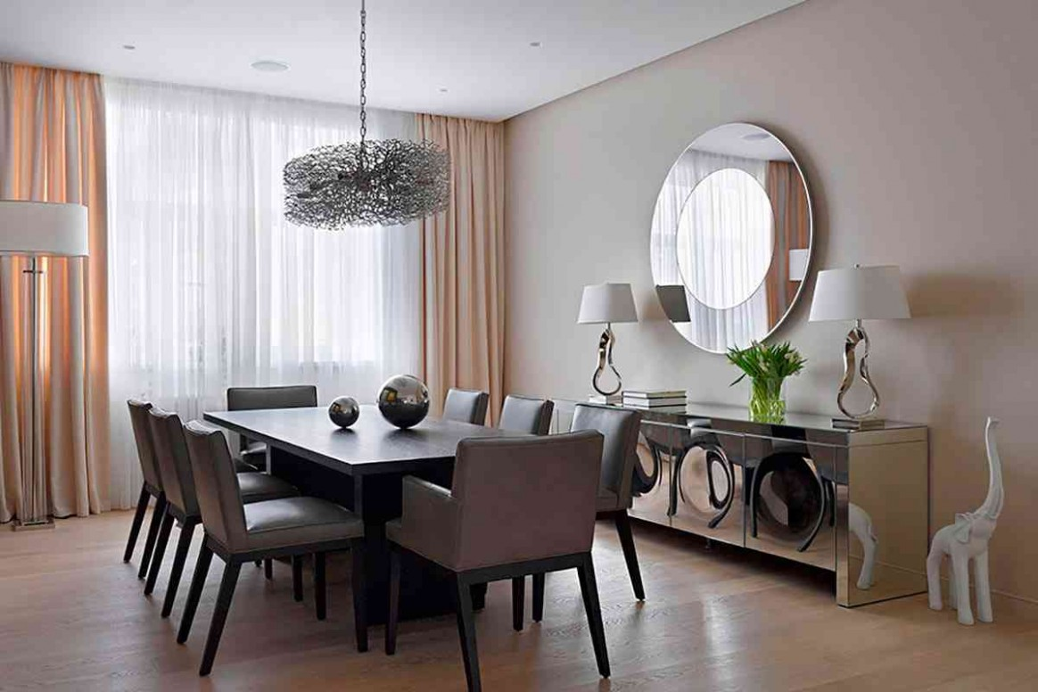 12 Ways Mirrors Can Make Any Room Look Bigger  Sonoma Magazine - Dining Room Ideas Mirror