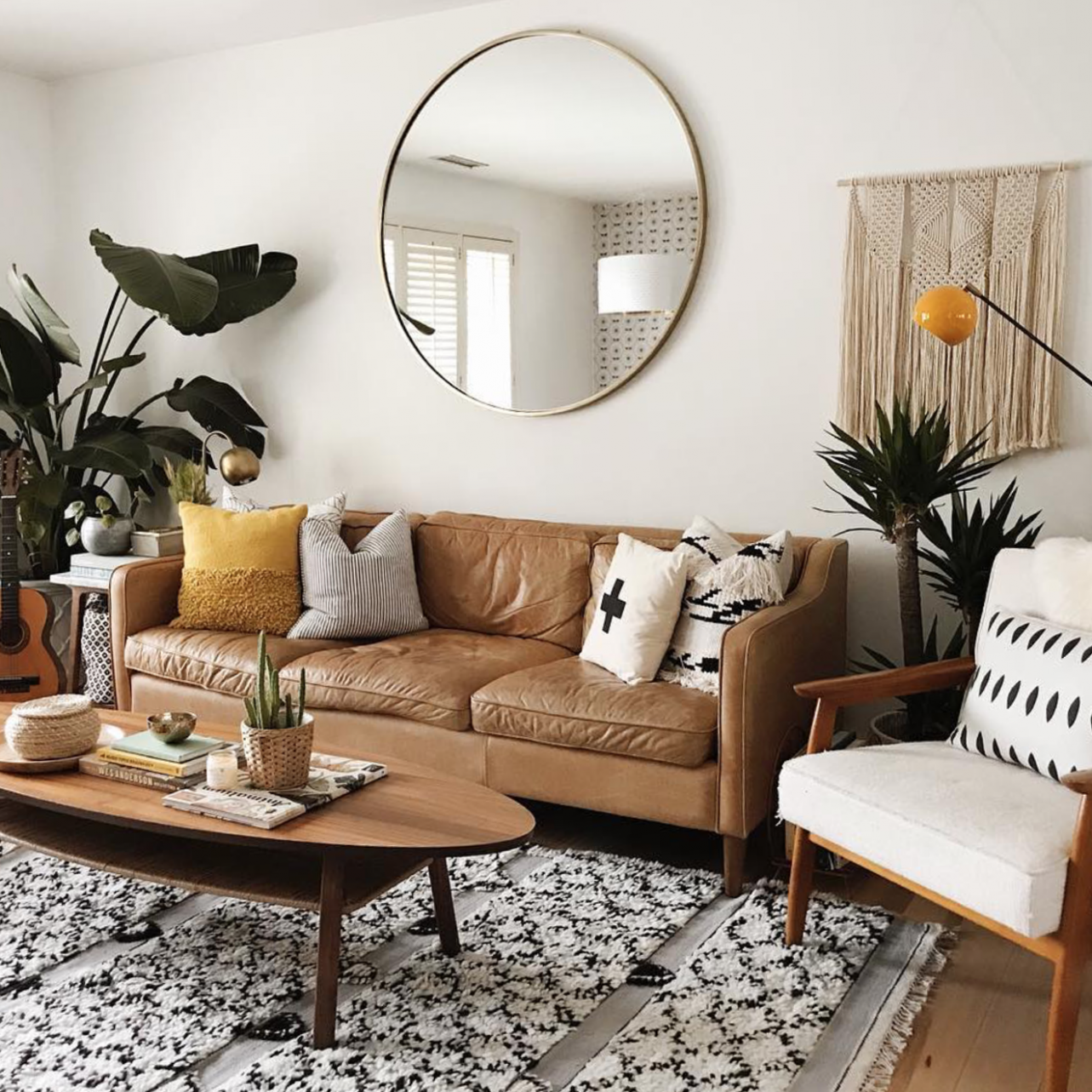 8 Apartment Decorating and Small Living Room Ideas  The Anastasia Co - Simple Apartment Decor Ideas