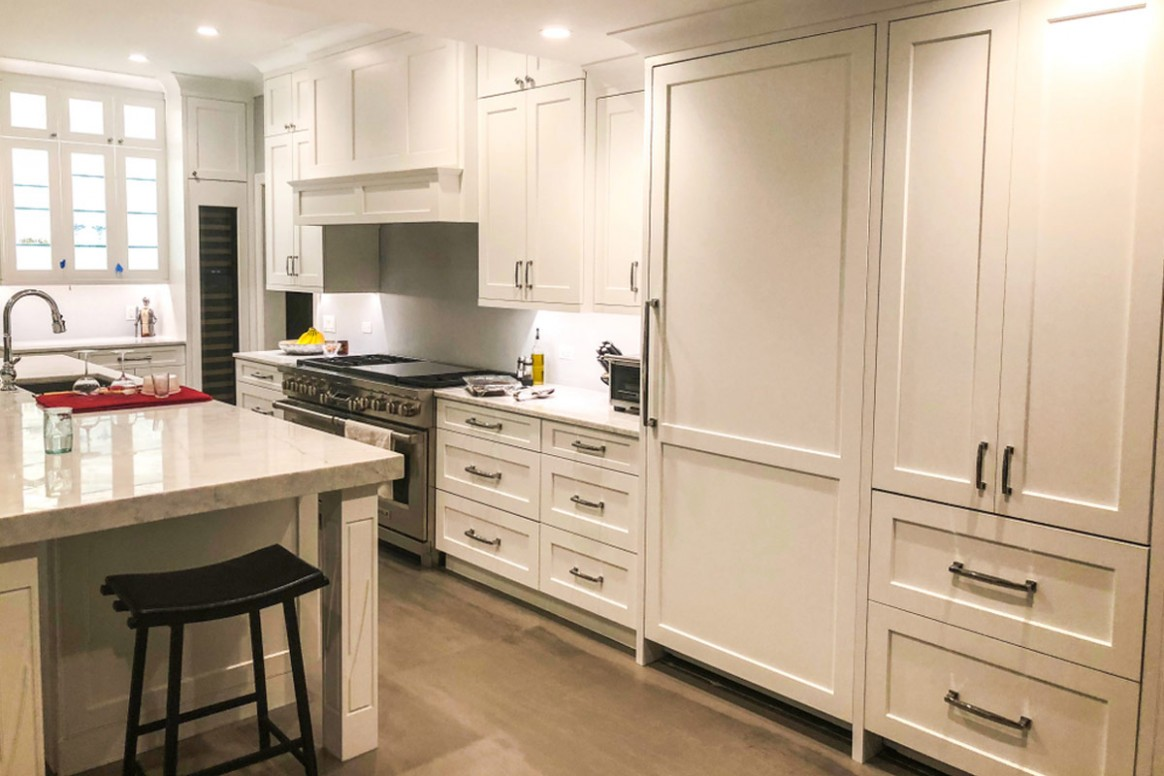 8 Average Cost of Kitchen Cabinets  Install Prices Per Linear Foot - Cost Upgrade Kitchen Cabinets