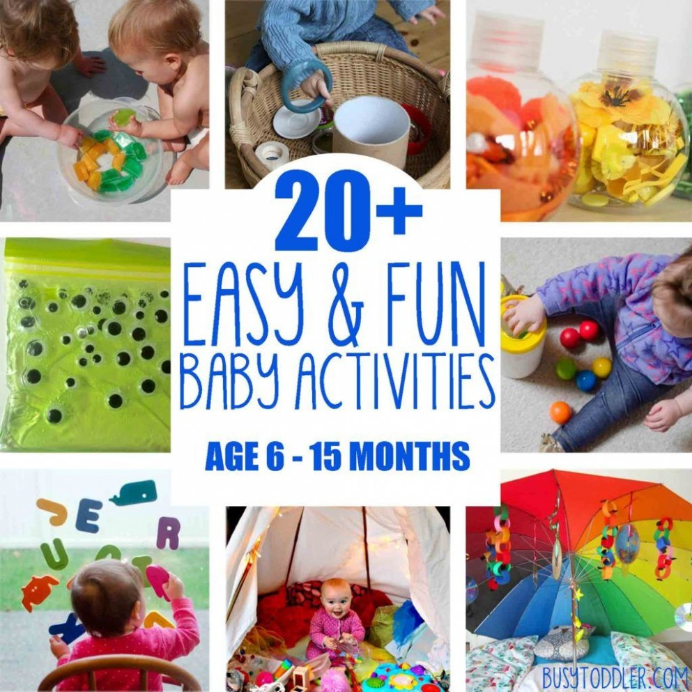 8+ Baby Activities: Fun & Easy Play Ideas  Infant activities  - Baby Room Activity Ideas