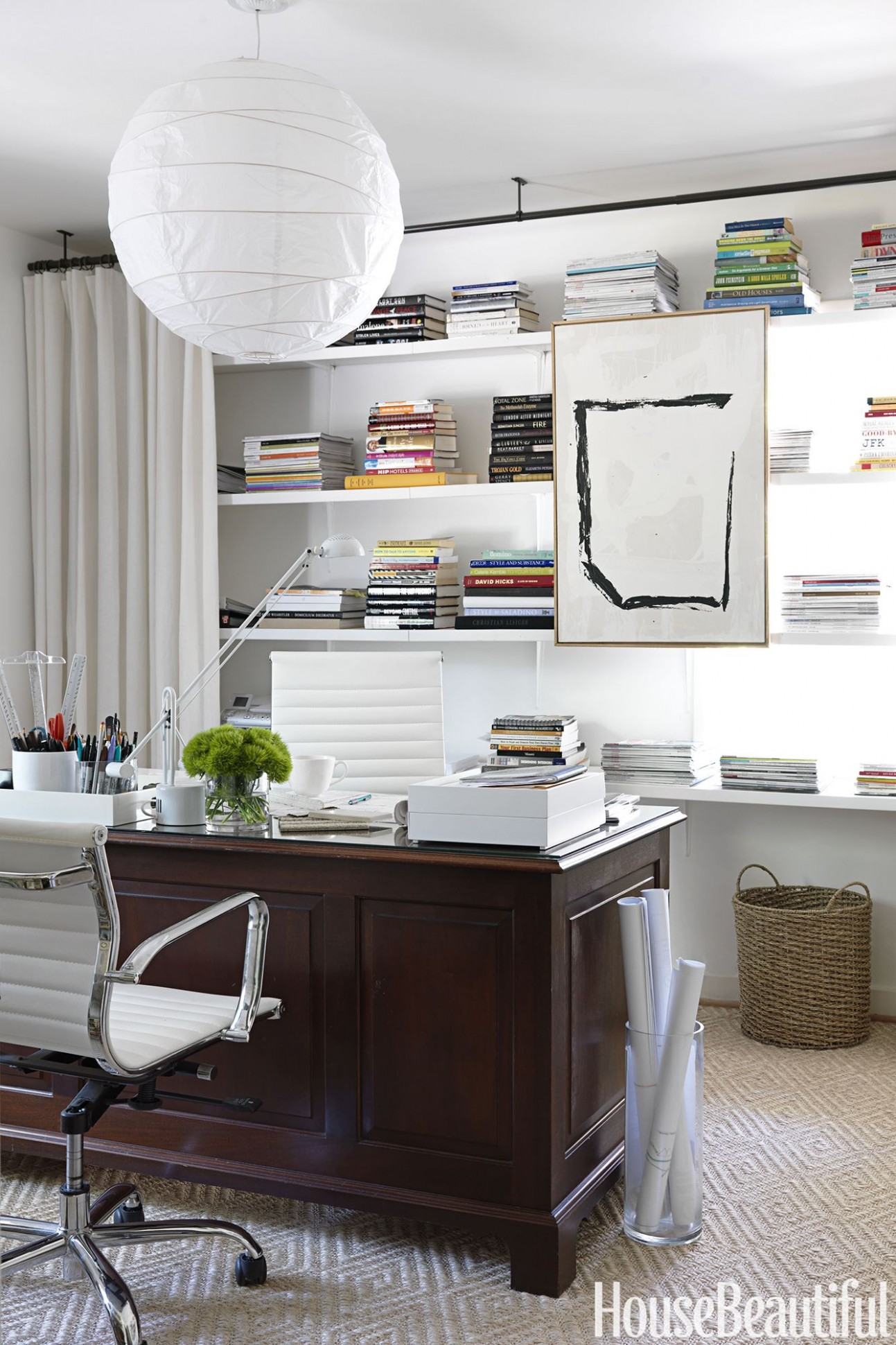 8 Best Home Office Ideas - Home Office Decor Photos - Home Office Ideas Cute