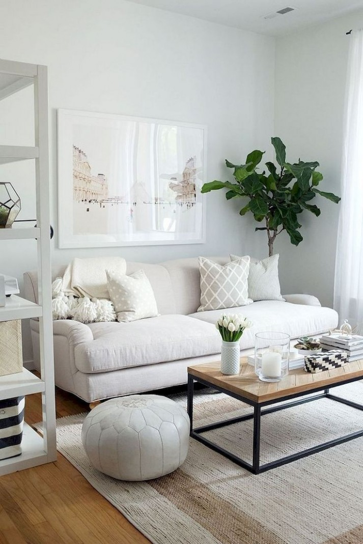 8+ Brilliant Solution Small Apartment Living Room Decor Ideas and  - Apartment Decorating Ideas Modern