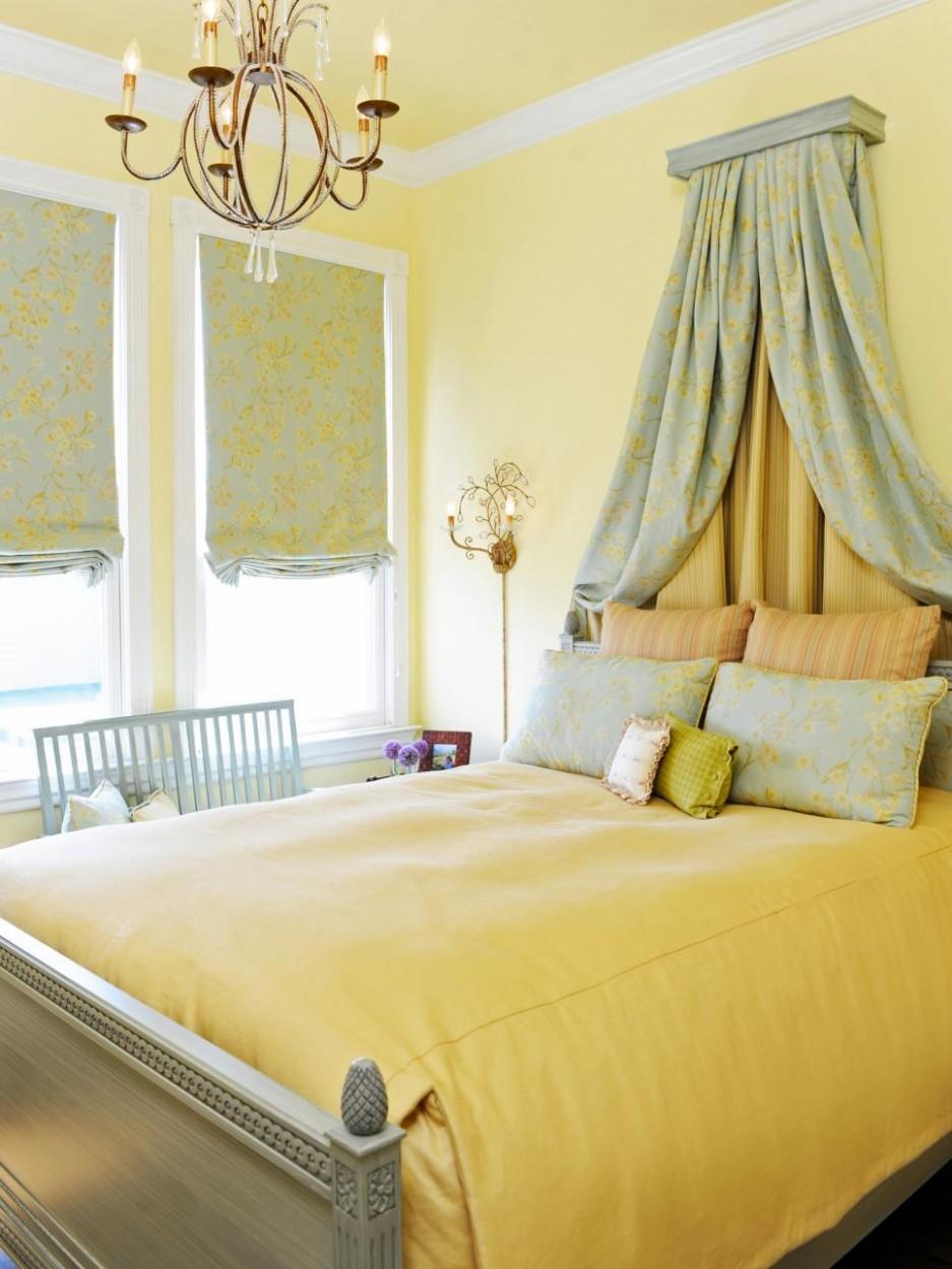 8 Cheery Yellow Bedrooms  HGTV - Bedroom Ideas Yellow Walls