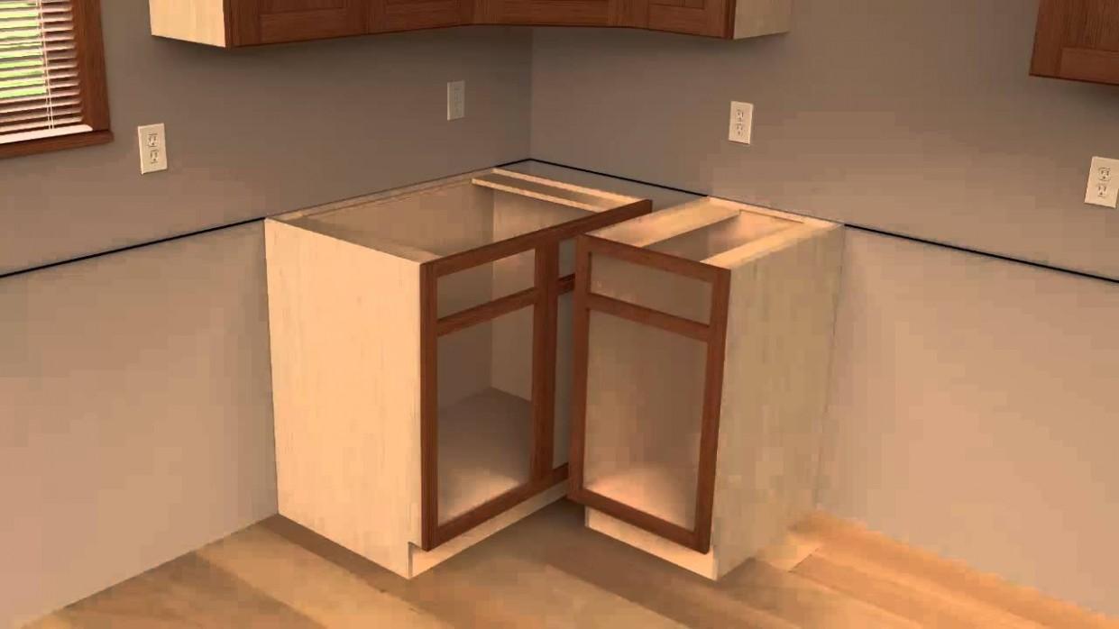 8 - CliqStudios Kitchen Cabinet Installation Guide Chapter 8 - Corner Hanging Kitchen Cabinet
