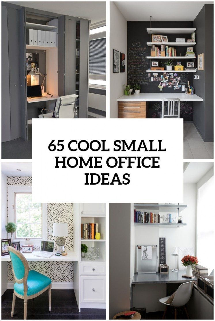 8 Cool Small Home Office Ideas - DigsDigs - Narrow Home Office Ideas