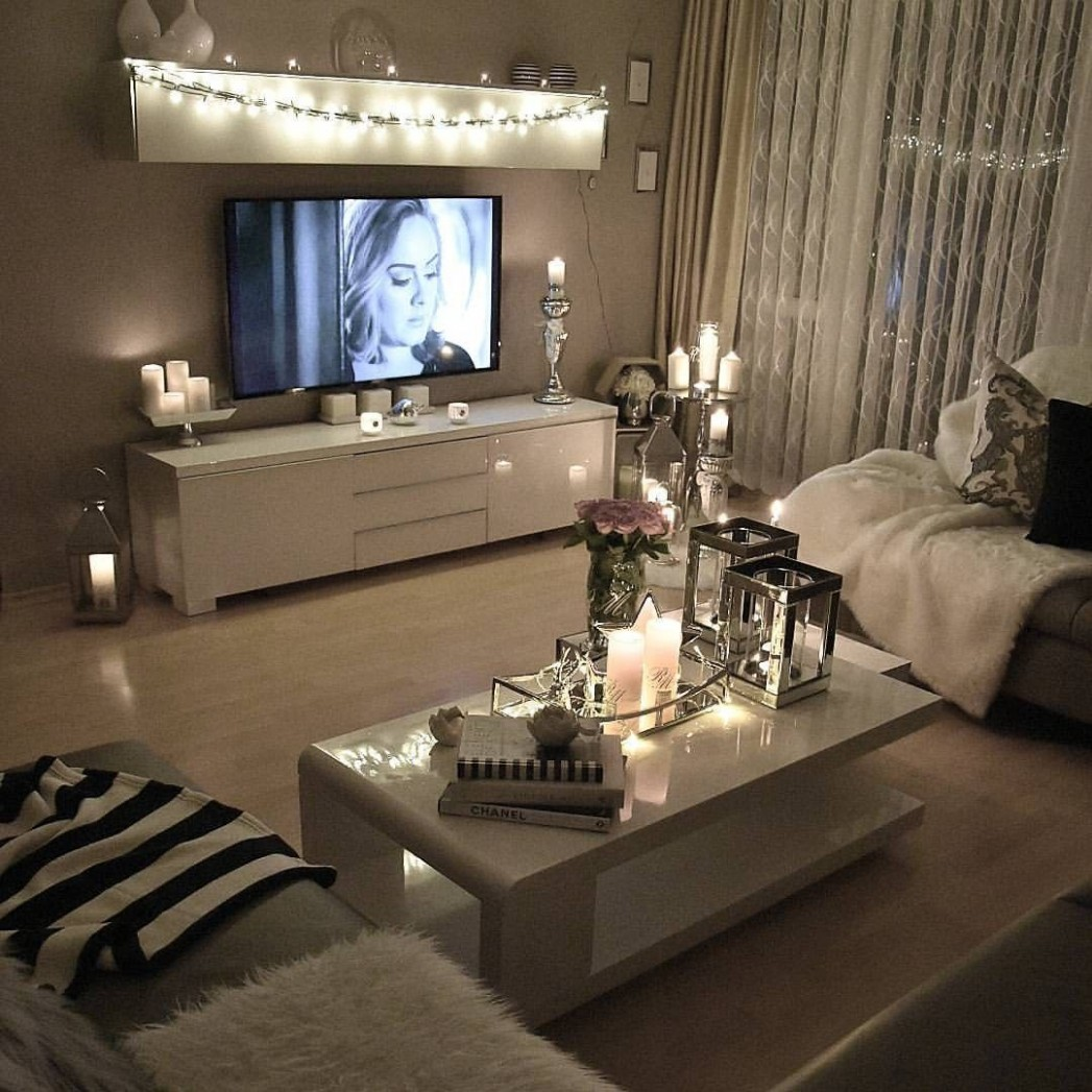 8+ Cozy Living Room Ideas for Small Apartment - The Urban  - Apartment Design Themes