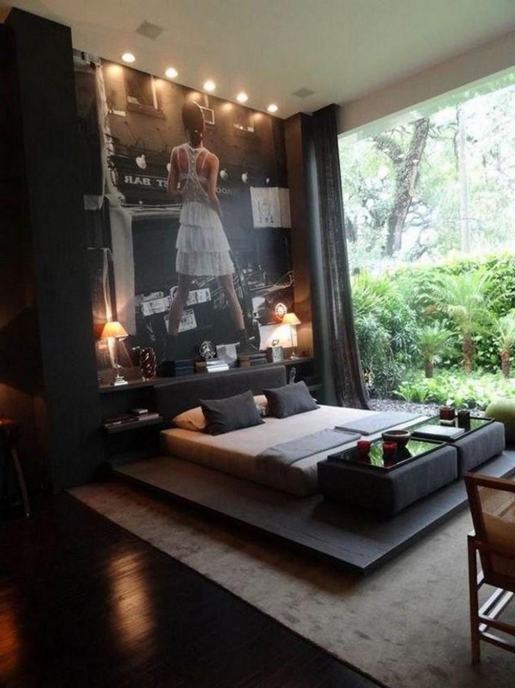 8+ Cozy Mens Apartment Masculine Decor #apartment #apartmentdecor  - Apartment Decorating Ideas Male