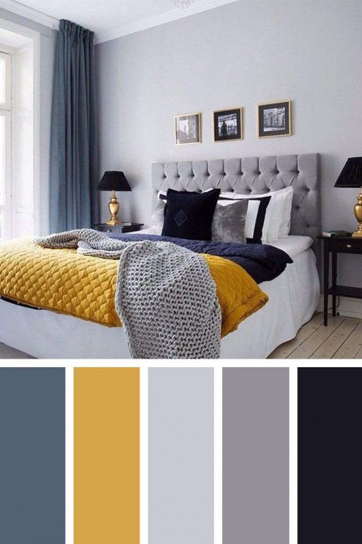 8 Gorgeous Bedroom Color Scheme Ideas to Create a Magazine-worthy  - Bedroom Ideas Colours