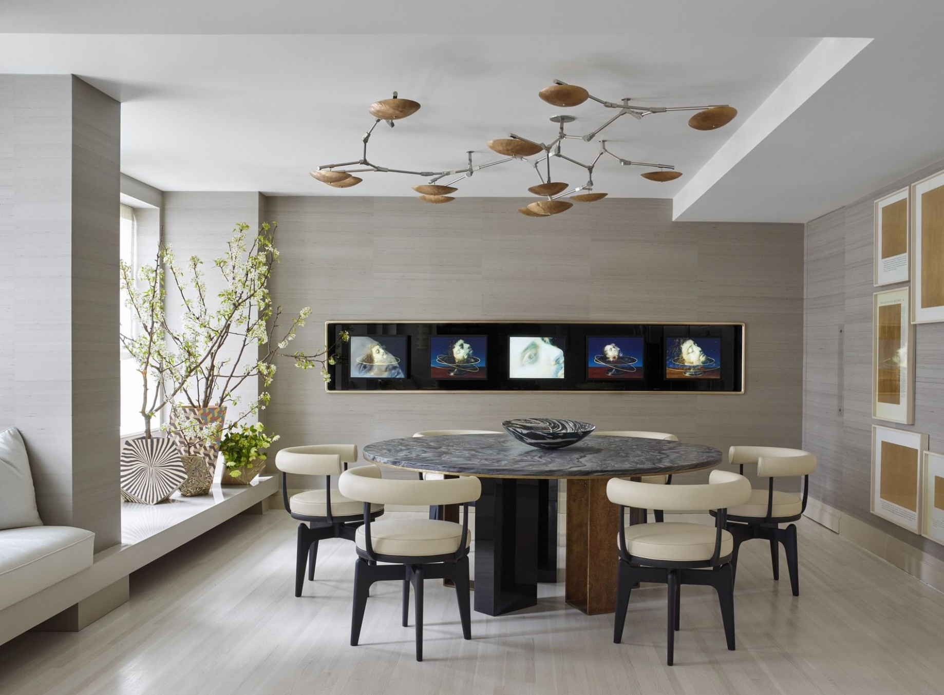 8 Modern Dining Room Decorating Ideas - Contemporary Dining Room  - Dining Room Renovation Ideas