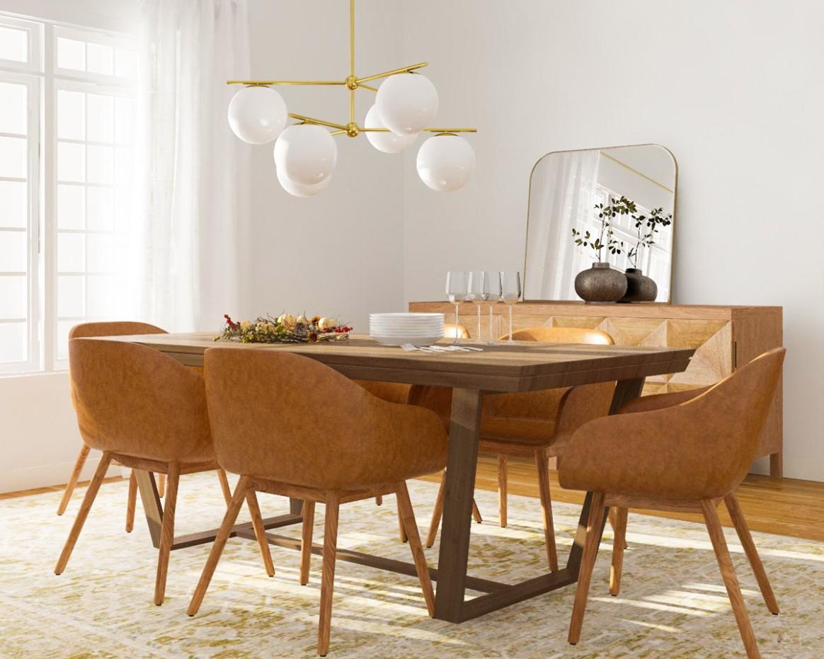 8 Modern Dining Room Ideas For Fall Entertaining  Modsy Blog - Dining Room Ideas Modern