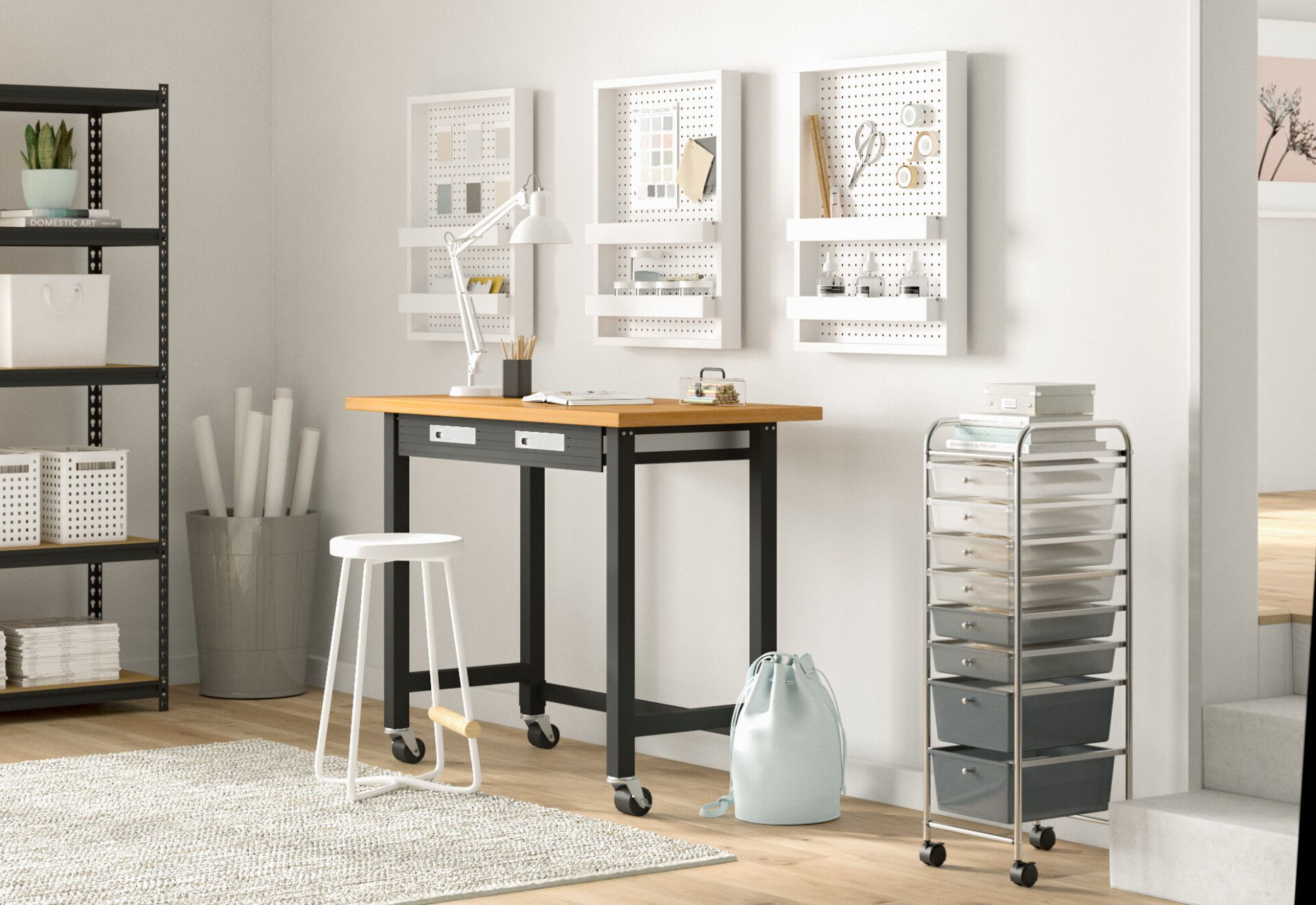 8 Must-Have Home Office Organization Ideas (With Photos!)  Wayfair - Home Office Ideas Organization